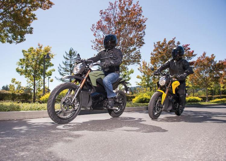 2013 Zero Motorcycles DS and S