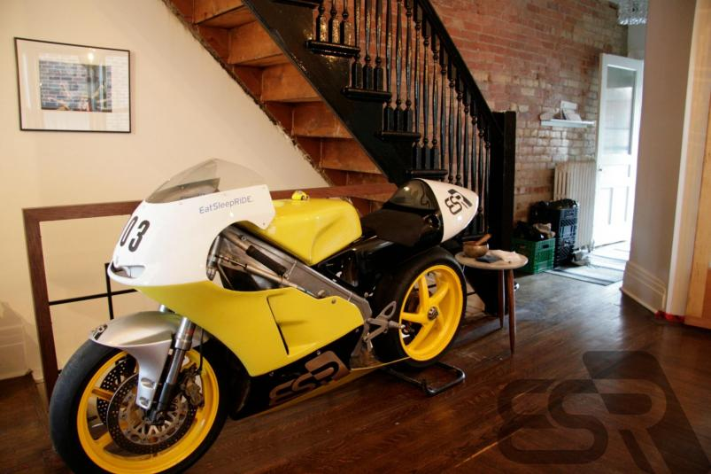 Motorcycles Parked In Your Living Room | Adventure Rider