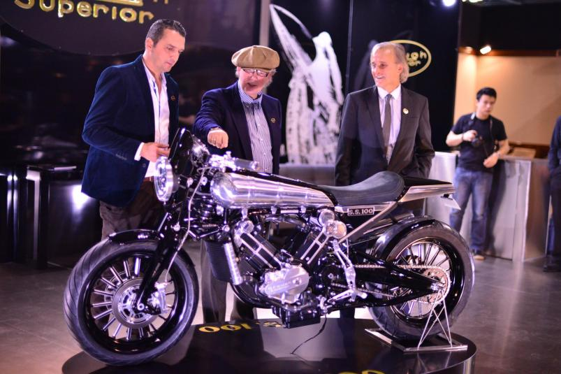 Brough Superior SS100 Prototype | design team
