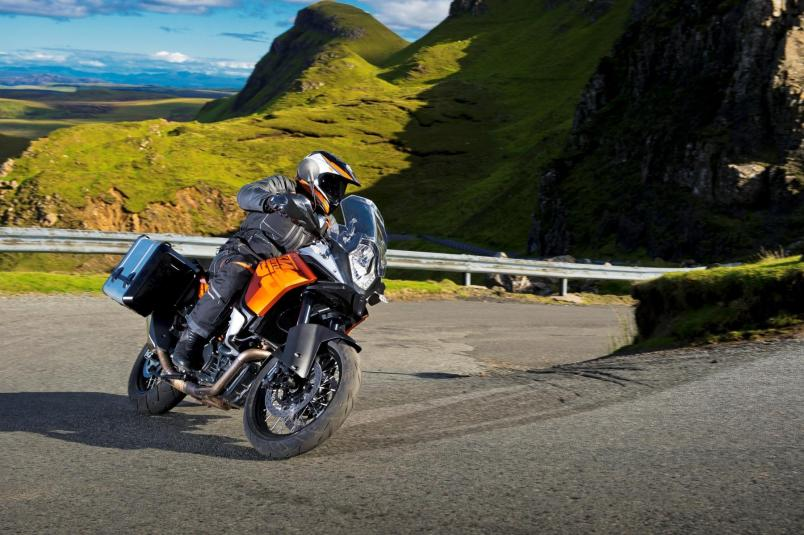 2013 KTM 1190 Adventure R in action 2
