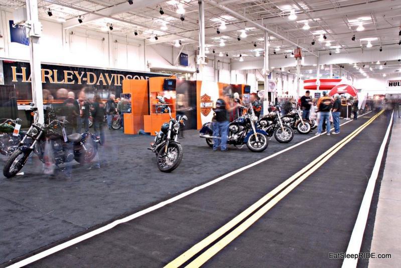 New bikes were just a fraction of all the motorcycles at the Supershow