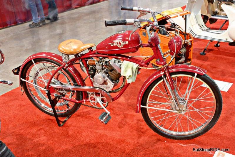 Motor assisted pedal bike by Whizzer