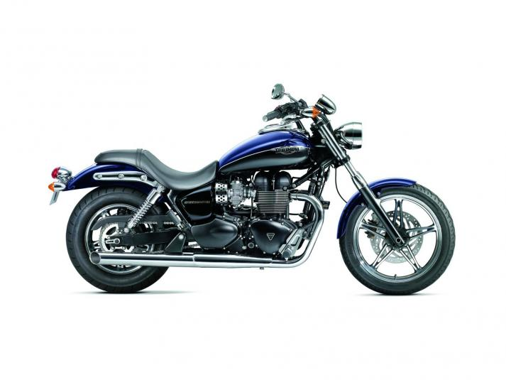 2013 Triumph Speedmaster - right side view