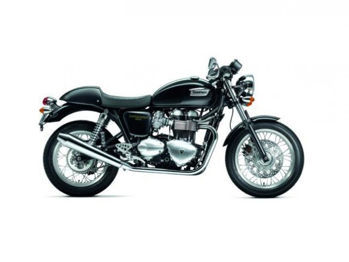 2013 Triumph Thruxton - right side view