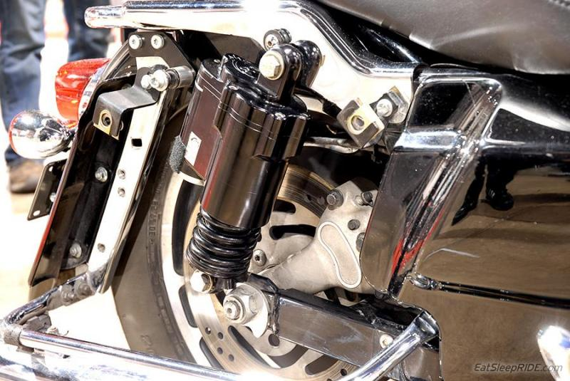 Hydraulic Active Suspension for Harley Davidson by CDC