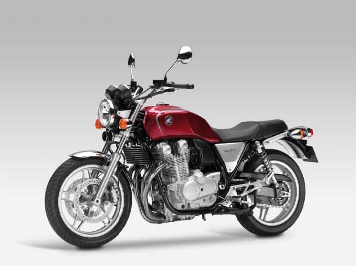 2013 Honda CB1100 - left front quarter view
