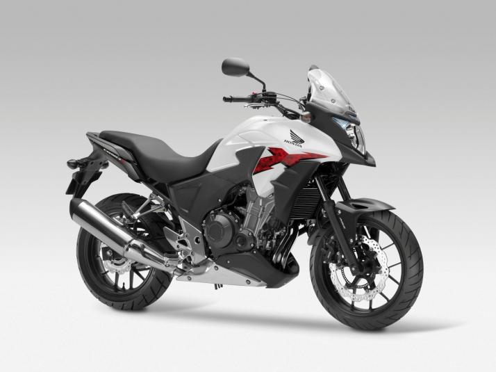2013 Honda CB500X - front right quarter view