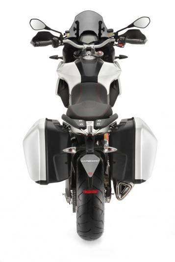 2013 Aprilia Caponord 1200 - top view