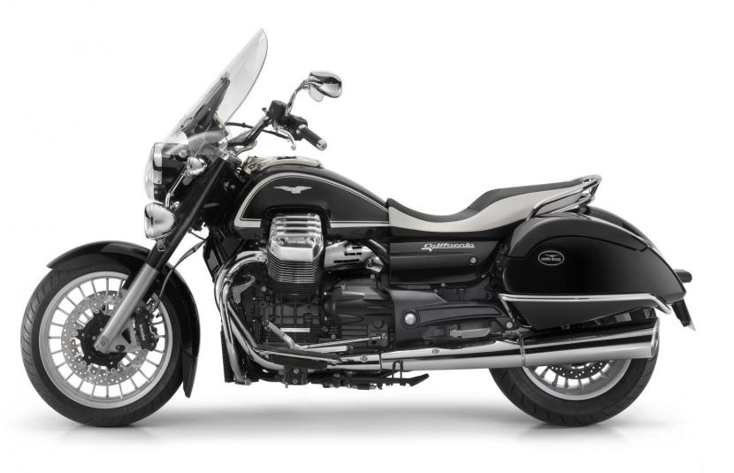 2013 Moto Guzzi California 1400 Touring Ambassador - left side view