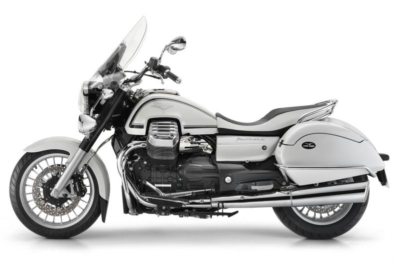 2013 Moto Guzzi California 1400 Touring Eldorado - left side view
