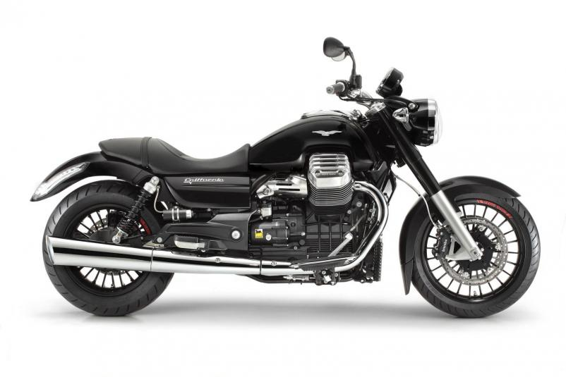 Moto Guzzi California 1400 Custom Nero Basalto - right sideview