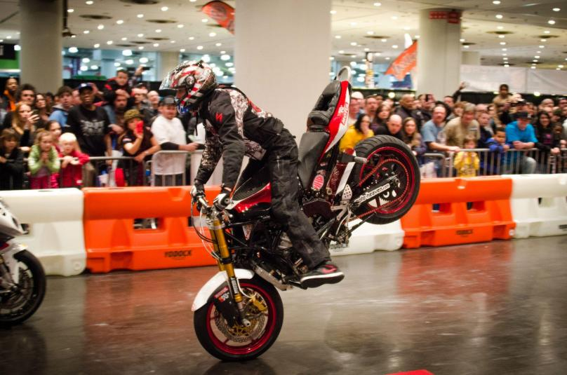 Motorcycle skills riding will be the Indianapolis Motorcycle Show