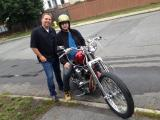 Alex, Paul and the Hardtail Custom
