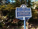 Falling Water plaque