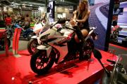 Honda CBR500R on the stand