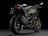 2013 Ducati Monster Diesel - rear quarter view