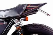 Garage Project Motorcycle's Street Tracker - seat and battery compartment