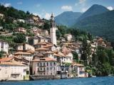 Italy - Nesso Lakehouses - view from the water