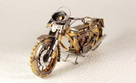 Bike from watch parts