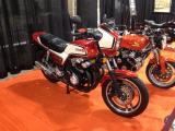 Hondas  at the Cleveland Motorcycle Show