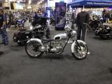The Triumph Area  at the Cleveland Motorcycle Show