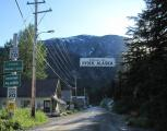 Entering Hyder, AK