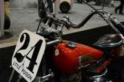 Vintage Indian Motorcycle - close up