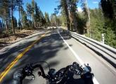 Motorcycle riding, South Lake Tahoe