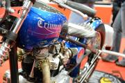Custom 1966 Triumph Bonneville - close up 1
