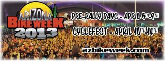 Arizona Bike Week - Pre Rally April 5-9 - Cyclefest April 10-14