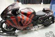 Custom 2008 Suzuki Hayabusa GSXR 1300 - left side view