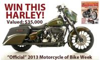 Win This Harley at Daytona Bike Week