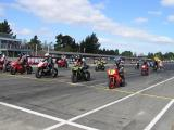 Start Grid. Flying Farewell