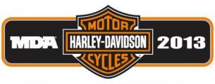 Harley Davidson and Muscular Dystrophy Association Logo