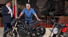 Jay Leno chats with Bramscher the founder of Brammo