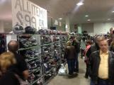 Lots of gear for sale at Motorcycle Spring Show