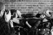 Matchless Motorcycle campaign features Kate Moss