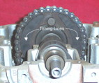 Valve Timing - Timing Line On Cam Sprocket