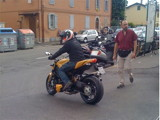 Ducati 848 Streetfighter - spy photo