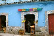 Fruit & veg store in San Cristobal, Mexico