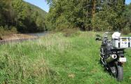 BMW F800GS surveys Pennsylvania
