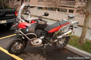 BMW R1200GSA Bagless