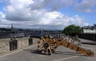 Cannon on Derry City Walls, Londonderry, Ireland