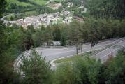 Ride Col du Petit Saint Bernard from Bourg-Saint-Maurice, France to La Thuile, Italy, through 40 hairpin turns_0