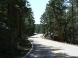 Iron Mountain Road Curves