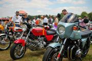 More vintage bikes at the AMA Vintage Motorcycle Days Event