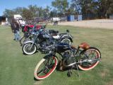 1948 Whizzer Vintage Replica at a local bike show