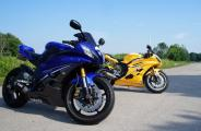 Twin Yamaha R6s - Custom Paint