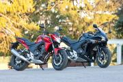 Honda's CB500F and CBR500R - Mid-range perfection?