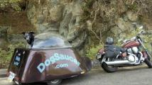 The DogSaucer Motorcycle Trailer_0